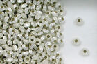 925 Sterling Silver 5.4 x 3.6 Fluted Hogan Spacer Beads, Choice of Lot Size