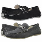Calvin Klein Mens Magnus Slip On Moc Toe Bit Strap Driving Drivers Loafers Shoes