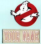 CHILD sized LADY Ghostbuster Style  Name Tag Patch Set - choice of styles