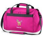 Personalised PINK PONY HORSE Sports Holdall Bag Equestrian Sports Horse Riding