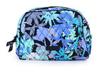 Vera Bradley Camofloral Floral Patterned Travel Case Bag Large Zip Cosmetic New