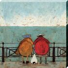 Sam Toft Doris Earwigging Canvas Print 60x60x3.8cm
