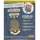NME Rock And Roll Riot Tour ADVERT Original Newspaper Advert Laminated