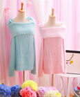 Cute Princess Dolly Lolita Kawaii Sweet Long Sleeve Sweater Knit dress onepiece