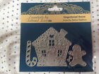 Tattered Lace - GINGERBREAD HOUSE (ETL156) Christmas Candy Cane + FREE mini die!
