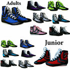ZstarAX Leather & Mesh Boxing Boots Shoes Rubber Sole Boots Junior & Adults