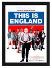 Framed This Is England Movie Poster A4 Size Mounted In Black Or White Frame