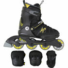 K2 Charm Sk8 Hero Ascent Pack Children's Inline Skates Rollerblades Set