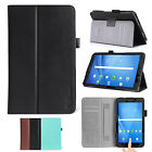 Leather Smart Cover for Samsung Galaxy Tab A 7.0'' Stand Case Sleep Wake 2016