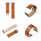 Genuine Leather Buckle Wrist Strap Band Belt for iWatch Apple Watch 38mm 42mm