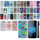 "For Microsoft Nokia Lumia 950 XL 5.7"" PATTERN HARD Back Case Phone Cover + Pen"