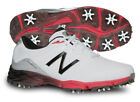 New Balance NBG2004WRD Golf Shoes Mens White Red Waterproof New