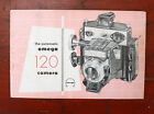 SIMONS BROS. OMEGA 120 INSTRUCTION BOOK/cks/190847