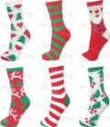 2 Pairs Ladies Soft Novelty Christmas Slipper Bed Socks Fluffy Winter Warm