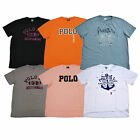 Polo Ralph Lauren Mens Graphic T-shirt Classic Novelty Tee S M L New Nwt
