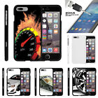 For Apple iPhone 7 Plus  Case Hard Snap On 2 Piece + Tempere
