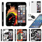 For Apple iPhone 7  Case Hard Snap On 2 Piece + Tempered Gla
