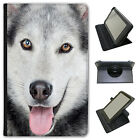 Wolf Wolves Universal Folio Leather Case For Linx Tablets