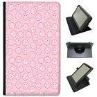 Kawaii Cupcakes Sweets Skulls Hearts Universal Leather Case For Lenovo Tablets