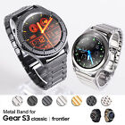 Stainless Steel Metal Watch Band Strap for Samsung Gear S3 Classic Frontier