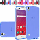 Slim TPU Rubber Case Cover For LG Tribute HD / LG X Style Phone
