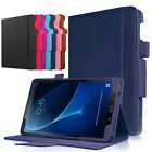 """For Samsung Galaxy Tab A T580N 10.1"""" 10"""" Tablet Leather Case Folio Stand Cover"""