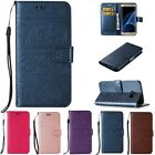Wallet Cards Holder Stand Flip Embossing Leather Case Cover For Samsung Galaxy