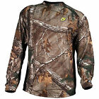 Robinson 8THLSXT Scent Blocker 8th Layer Lng Sleeve Polyester Shirt w/S3 Silver