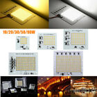 10/20/30/50/90W Smart IC LED Bulbs COB Chip Bead Outdoor Floodlight Lamp 220V