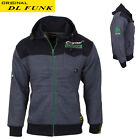 DL FUNK MEN'S TOP JACKET BOMBER TRENDY SPORTISH WARM FLEECE SIZE UK S M L XL