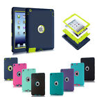 Hybrid Shockproof Heavy Duty Case Cover For Apple Ipad 2/3/4 Mini Air 2 Pro9.7""