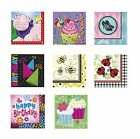 Kids Party Themes - 16 Luncheon NAPKINS (Boy/Girl/Children Birthday PARTY RANGE)