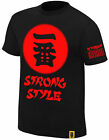 WWE NXT SHINSUKE NAKAMURA Ichiban Strong Style Black OFFICIAL AUTHENTIC T-SHIRT