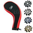 10Pcs Golf Club Iron Covers Headcovers Neoprene For Taylormade Titleist New