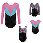 One-piece Sparkly Ballet Dance Athletic Gymnastic Leotard for Little Girl 5-14Y