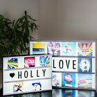 Personalised Photo Cinema Light Box