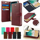 Goospery Slim Flip Leather Wallet Case Cover For iPhone 7 7Plus 8 8Plus X Lot