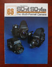 BRONICA SQ-A/SQ-AM SALES BROCHURE, IR100184F, 16 PAGES/186999