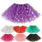 Star Sequins Girls Kid Child Princess Tutu Skirt Ballet Wear Dance Dress Costume
