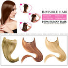 Invisible 100% Remy Hair Extension Wire Body Wave Headband Crown Extensio 20inch