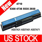 as07a31 battery - 5200mAh Battery/Adapter Charger for Acer Aspire 4710 AS07A31 AS07A41 4730 4925G