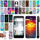 For Alcatel Dawn 5027/ Acquire/Streak/ Ideal 4060A TPU SILICONE Case Cover + Pen