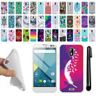 For BLU Studio G TPU SILICONE Rubber Soft Protective Case Cover + Pen
