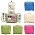 Portable Toiletry Wash Cosmetic Makeup Storage Case Hanging Organizer Bag New