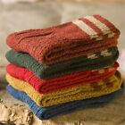 1 Pair Chic Womens Cashmere Wool Thick Warm Socks Winter Trendy Striped Design
