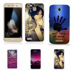 Patterned Rubber Soft Silicone Luxury TPU Fashion Fashion Case Cover For Huawei