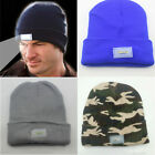 5-LED Lighted Cap Winter Warm Beanie Angling Hunting Camping Running Hat 4 Color