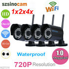 2X 4X 720P Wireless Wifi Outdoor Night Vision CCTV Home Security IP Camera ONVIF