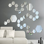 Removable Mirror Decal Art Mural Wall Stickers Home Decor DIY Room Decoration 3D