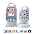 Two Way Talk Video Temperature Wireless Baby Monitor LCD Display Night Vision